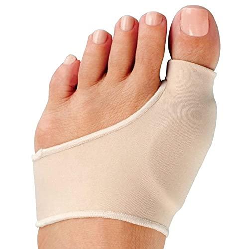 AUTUUCKEE Protector de manga juanete para evitar lesiones Hallux Valgus elástico alivio del dolor postura (tamaño: S)