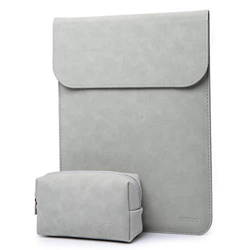 HYZUO 15-16 Zoll Laptop Hülle Tasche Laptophülle Compatibel mit 2019 Neu MacBook Pro 16 A2141/Surface Laptop 3 15 Zoll/Dell XPS 15/2012-2015 MacBook Pro 15 A1398 Laptoptasche mit kleine Tragetasche