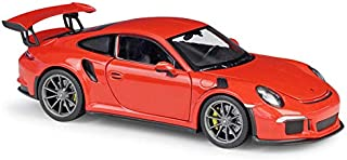 Porsche 911 GT3 RS Orange 1/24-1/27 Diecast Model Car by Welly 24080