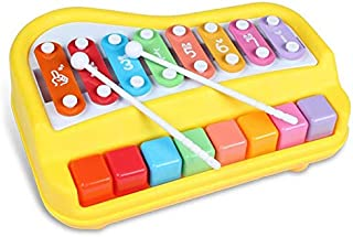 Toy Piano Instrument Musical Toy keyboard Touch Knock Piano Music Toy Push Pull Serinette Walking Toys Hot  For Children Kids