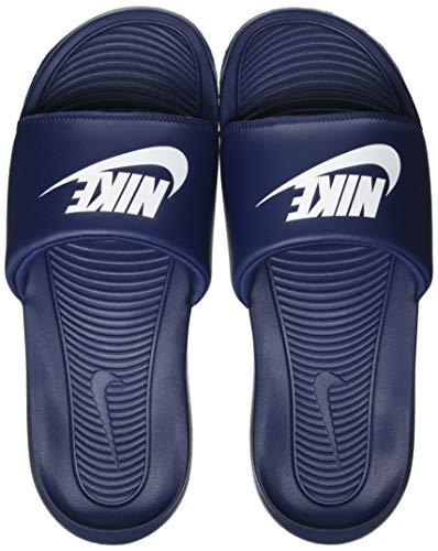 Nike Victori One Slide, Mocassino Uomo, Midnight Navy White Midnight Navy, 50.5 EU