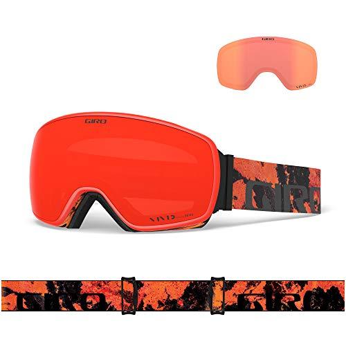 Giro Snow Agent Masque de Ski pour Homme Lava Vivid Infrared, Taille Unique