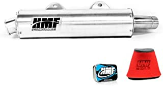 HMF Yamaha Raptor 660 2001-2005 Slip On Exhaust Muffler & Jet Kit + UNI Filter