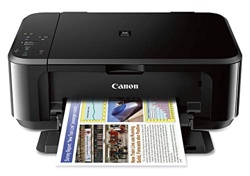 Canon PIXMA MG3620 Wireless All-In-One Color Inkjet Printer with Mobile and Tablet Printing, Black...
