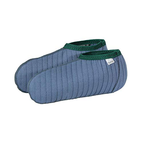 Bama sokket Providing Moisture and Cold Protection, Made of a Cotton, Flannel and Acrylic Mix.