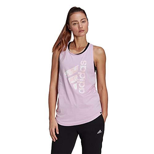adidas Camiseta sin Mangas Modelo W Floral G TK Marca