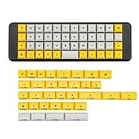 互換性があります 40メカニカルキーボード用40のキーキャップ染料下塗りさキーズ ハイエンドバックライト (Color : DSA 40 keycap B)