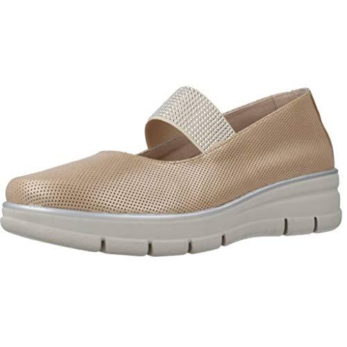24 Horas Zapatos Bailarina Mujer 24470 para Mujer Beige 38 EU