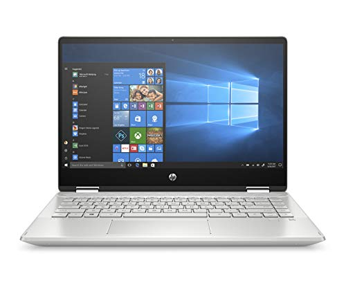"HP Pavilion x360 14-dh0009ns - Ordenador portátil convertible táctil de 14"" FullHD (Intel Core i5-8265U, 8GB RAM, 256GB SSD, NVIDIA MX130-2GB, Windows 10) color plata - Teclado QWERTY Español"