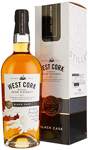 West Cork Char No. 5 Level Blended Irish Whiskey Black Cask Finish (1 x 0.7 l)