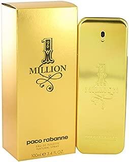 1 Million by Pâcó Râbâññé for Men Eau De Toilette Spray 3.4 oz