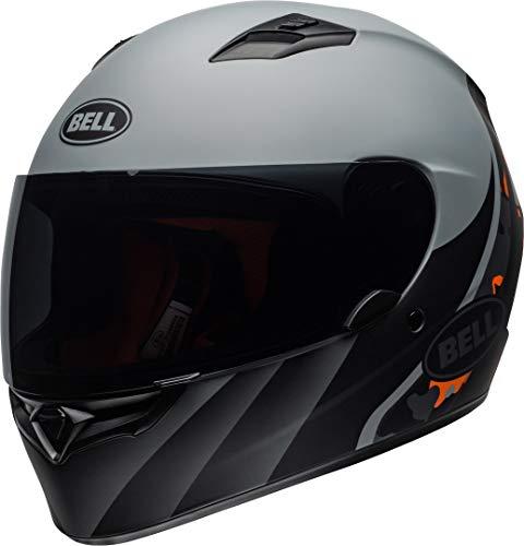 Bell Helmets Qualifier Casco de Motociclismo, Hombre, Naranja, M