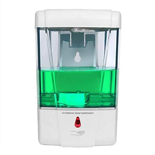 Abester Dispensador de jabón automático de 700ML sin Contacto Sensor IR dispensador de detergente desinfectante de Manos para baño Cocina montado en la Pared