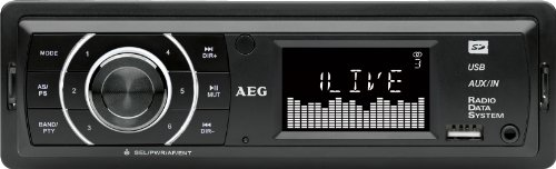 AEG AR 4027 MP3-Autoradio (PLL-Tuner, 4X 80 Watt, SD-Speicher, USB)