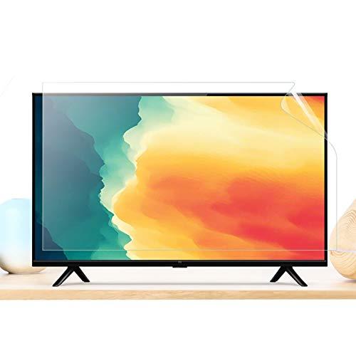 50-52 Pulgadas Protectora De Pantalla De TV De, TV Protección de pantalla Antiazul Filtro Antideslumbrante Filtros ProteccióN para Los Ojos para LCD/ LED y Plasma HDTV televisor,50inch/1101x620mm