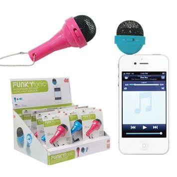 Best Deals! Funkyfonic Microphone Speaker - Blue