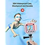 """Victure Kids Camera Waterproof 1080p Full HD Video Camcorders Sports Action Digital Camera with 16GB SD Card for Girls… 12 <p>【8MP Photo & 1080p HD Video & 16GB card】 Victure Kids Camera KC200 features Full HD 1080p@/30fps videos and 8MP bright photos, shooting the most memorable moments of children. Large-capacity storage card is good for children to take a lot of photos and videos. KC200 is the best action camera as a Christmas/ birthday/ holiday gift for children 4-12 years. 【Durable & Waterproof Case】With the professional IP68 level waterproof case, Victure waterproof video kids camera can be used underwater 30m (100ft) to explore adventures, best for beach, diving, swimming, drifting, snorkeling, surfing and more. 【Colorful Filters & Unique Frames】 With built-in 7 colorful video filters and 6 unique designed photo frames, Victure kids camera can fully develop children's creativity. 2"""" LCD color screen presents and view all images directly, making recording a lifestyle. 【Useful Accessories & Multiple combinations】Included Class 10 Micro SD 16GB Card and versatile mounting kits allow the kids sports camera arrive and play, can be attached to skateboards, bike or helmets. Durable neck strap ensure safe using and full-protection. 【Excellent After-Sales Service】Victure Kids Camera supports 30-days money back and 12 months warranty and free customer service for life. A qualified after-sale service team, 7 days/ 24 hours serving for you.</p>"""
