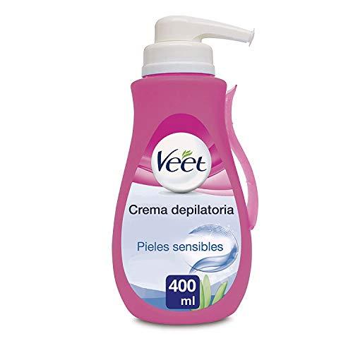 Veet Crema Depilatoria Corporal para Mujer, Con Dosificador