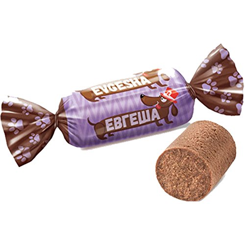 russisches Konfekt Evgescha 1kg Pralinen batonchik candy