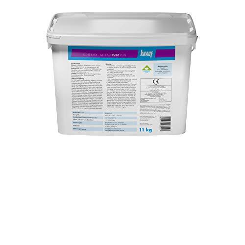 Knauf 696537 Extra Fein 11 kg 0,5 mm EASYPUTZ, Körnung, schneeweißer, mineralischer Dekorputz, hochwertig, zum einfachen Aufrollen auf Wand oder Decke im Innenbereich, atmungsaktiv - 5