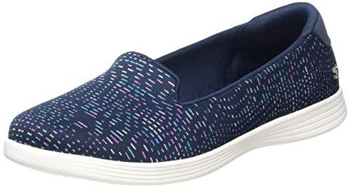 Skechers Damen ON-The-GO Capri Sneaker, Blau Marineblau Multi Textile Trim Nvmt, 41 EU