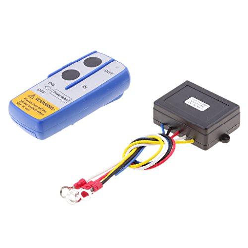 LOVIVER Kit de Control Remoto de Cabrestante Inalámbrico de 12 V de Repuesto Automático para Vehículos KLS-203