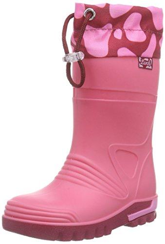 Lurchi Jungen Mädchen PLITSCHI Gummistiefel, Pink (pink 33), 24 EU