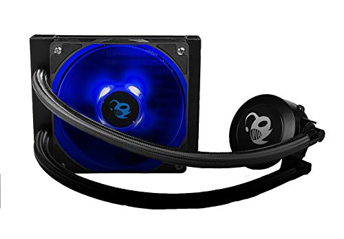 CoolBox DeepGaming DeepRunny V2- Kit de Refrigeración Líquida CPU (Compatible Intel/AMD, Ventilador de 12 cm, Iluminación LED), Negro