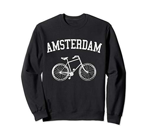 Amsterdam Hollandrad Fahrrad Holland Niederlande Souvenir Sweatshirt