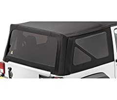 Consists of two side and one rear window with premium fabric surrounds in factory matching colors 31% tinted window kits offer relief from daytime sun, heat build-up Meet both U.S. tinting standards and European regulations Heavy-duty factory-quality...