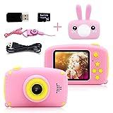 Jouets Fille 3 à 6 Ans HD 1080P Numérique Appareil Photo Enfants Petits Cadeaux...