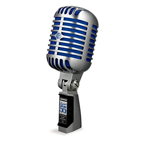 SHURE Micrófono de voz dinámico supercardioide de estilo clásico