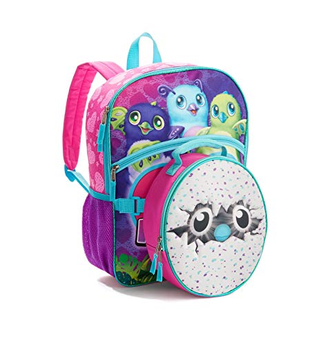 ai accessory Hatchimals CollEGGtibles Magic Is Hatching Full Size Backpack & Egg Lunch Bag Box