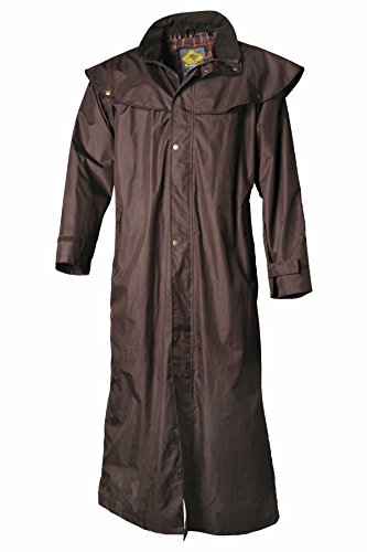 Scippis - Stockman Coat (Rain Wear) - Brown, Large