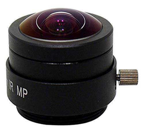 StarDot LEN-2M1.55MMCS 1.55-1.55mm f/1.5-1.5 Fischaugen-Objektiv, nur Kamera-Objektiv, schwarz