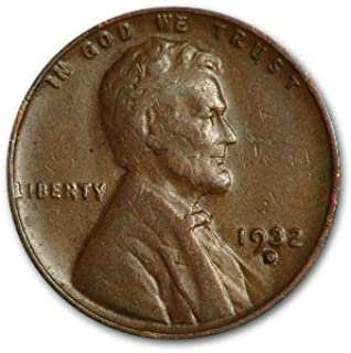 1932 D Lincoln Cent Good/VF Cent Very Fine