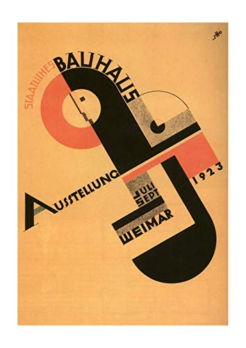 Spiffing Prints Bauhaus Exhibition - Small - Semi Gloss - Unframed
