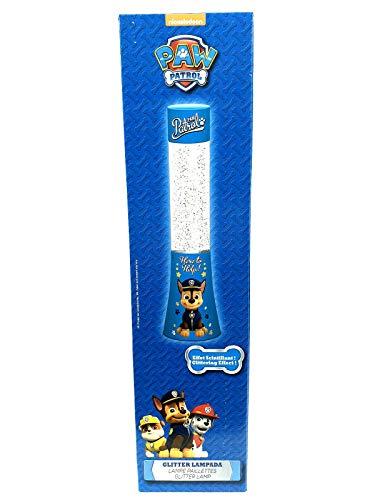 Glitterlampe Glitzerlampe Paw Patrol Mickey Mouse, Motiv:Paw Patrol
