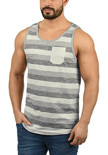 !Solid Whicco Herren Tank Top Mit Rundhalsausschnitt Aus 100{390b5cde53d2760a3e1513031ccdf6f128d4d22fd4133c38eda8ffc5eaa01e4a} Baumwolle Regular Fit, Größe:XL, Farbe:Monument (2545)