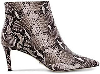 Tony Bianco Gessy Ankle Boots - Low Cut Ankle Boot Design, Elongated Pointed Toe and Exposed Zip Pulls