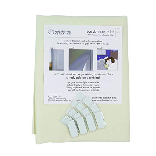 easyblackout' blackout blind kit with VELCRO® Brand self-adhesive...