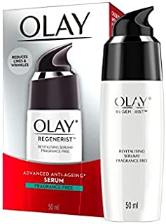 Olay Regenerist Advanced Anti-Ageing Revitalising Serum Fragrance Free 50mL