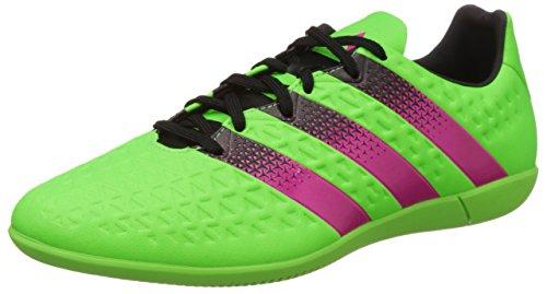 adidas Herren Ace 16.3 IN Fußballschuhe, Verde Rosa Nero Versol Rosimp Negbas, 44 2/3 EU