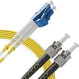LC to ST Single Mode Fibre Patch Cable Duplex - 1M...