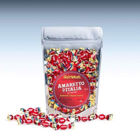 Glitterati AMARETTO DITALIA - Famous Miniature Hard Candies (65 Ct. Pouch)