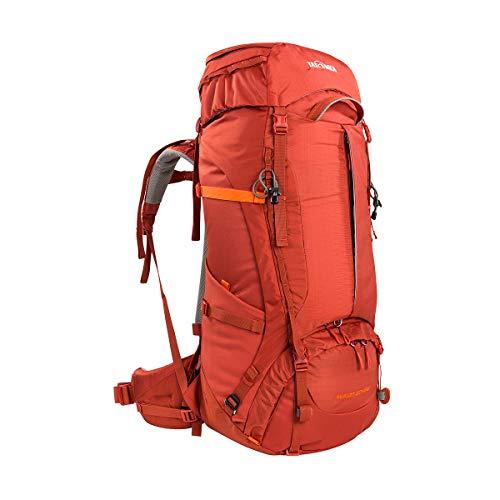 Tatonka Yukon 60+10 Sac à dos de randonnée pour femme avec grande ouverture frontale pour femme Rouge 70 l