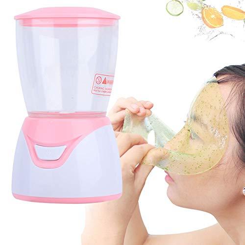 DIY Obst und Gemüse Masken Maker, Gesichtsmasken Selber Natürliche Machen, Super Mini Face Mask Maker Gesichtspflege SPA Schönheit Maschine mit 32 Kollagenpillen