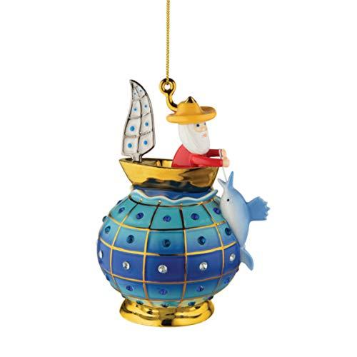 Alessi MJ16 12 Home Ornament, porcelain, Multicolor, One size