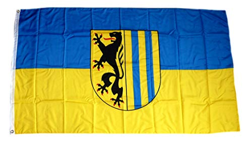 Fahne/Flagge Leipzig 90 x 150 cm Flaggen