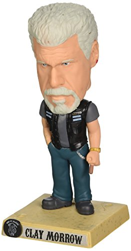 Funko - Figurine Sons of Anarchy - Bobble Head Clay Morrow 18cm -...